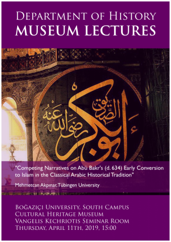 Competing Narratives on Abū Bakr's (d  634) Early Conversion to